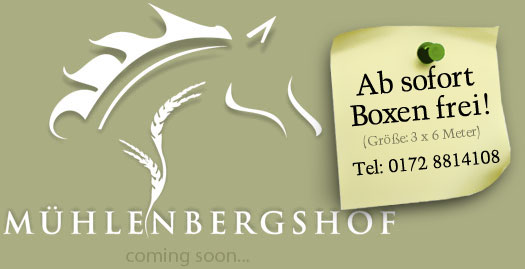 Mühlenbergshof - coming soon